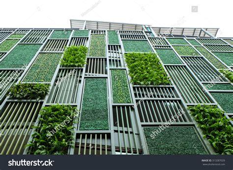 Vertical Garden Facade by Green Facade Vertical Garden Architecture Ecological Stock