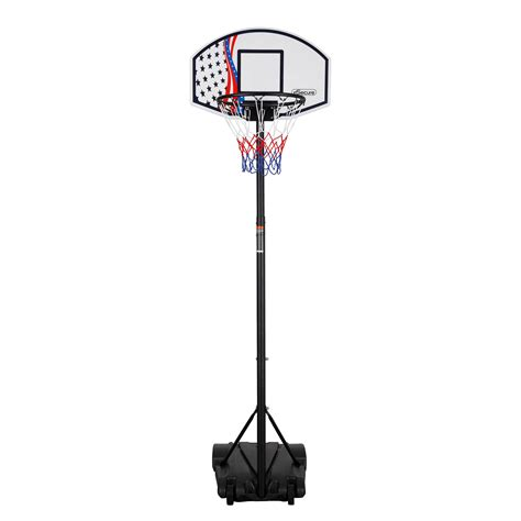 Esecure Free Standing Basketball Net Hoop Backboard Set