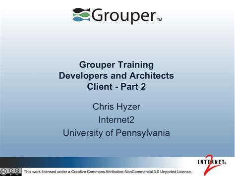 grouper client introduction