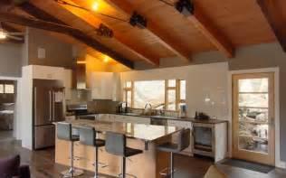 Simple Home Interior Designs Modern Cabin In The Colorado Mountains