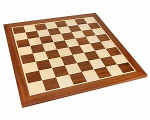 21 Inch No 6 Inlaid Wooden Chess Board  Plc022