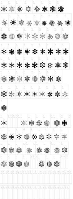 Free Printable Snowflake Templates – Large & Small Stencil