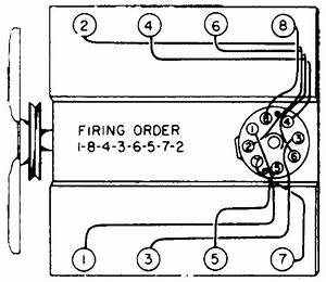 1957 Chevy 6 Cylinder Distributor Wire Diagram