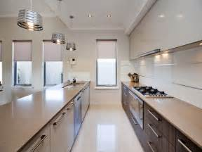 12 Amazing Galley Kitchen Design Idea Layout Galley Kitchen Design In Modern Living