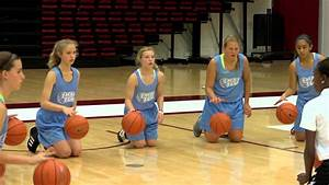 Youth Basketball Dribbling Drill - YouTube