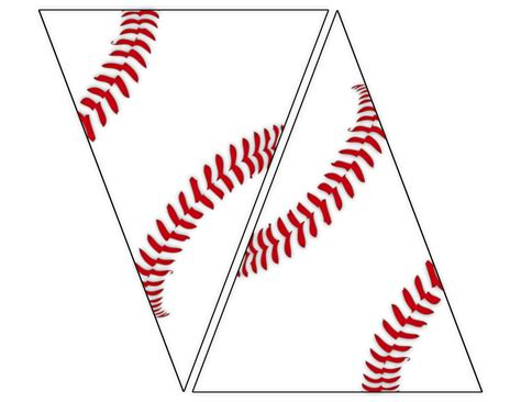 baseball template free free printable baseball banner baseball decorations paper trail design