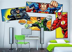 justice league super heroes wall decals With amazing justice league wall decals