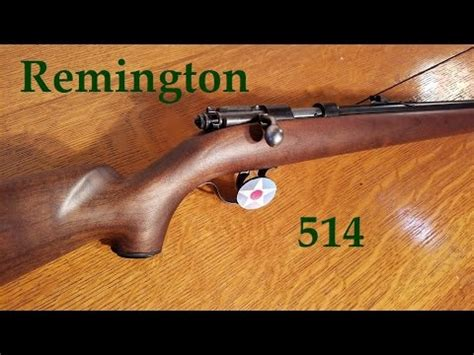 My Remington 514 22 Single Shot Youtube