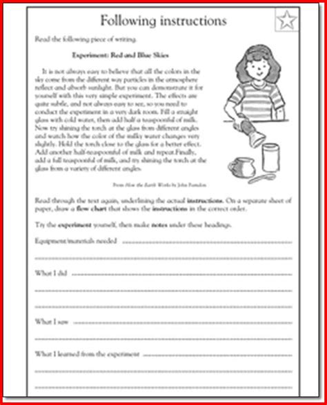 language arts worksheets 4th grade printables