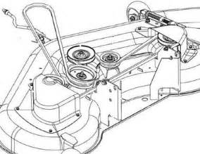 need diagram for john deere d140 mower deck belt solved