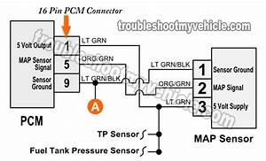 1998-2001 Map Sensor Circuit Diagram  1 3l Suzuki Swift