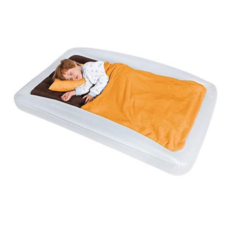 the shrunks inflatable toddler travel bed cruisy baby