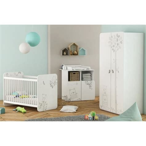 chambre bébé complète chambre bébé complète 3 pièces lit bébé 60x120 cm