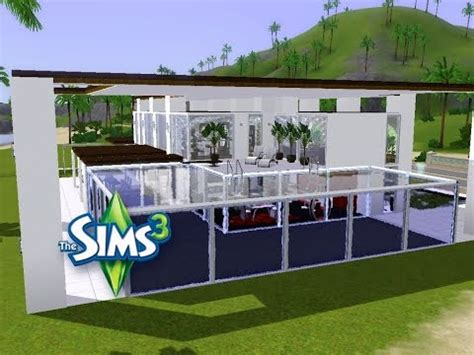Modernes Haus Let S Build by Sims 3 Haus Bauen Let S Build Modernes Haus Mit