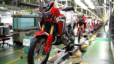 Take A Look At The Honda Africa Twin Factory Assembly Line ...