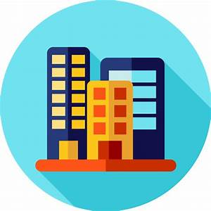 Office block - Free buildings icons