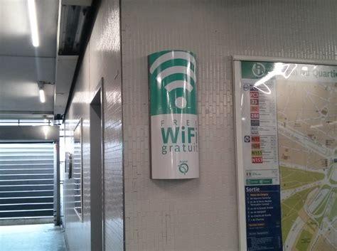 on a testé le wi fi dans le métro de