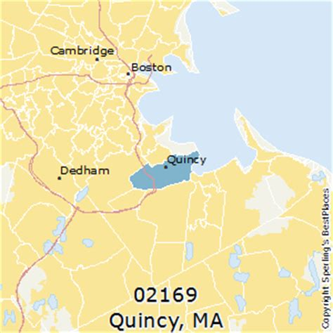 places    quincy zip  massachusetts