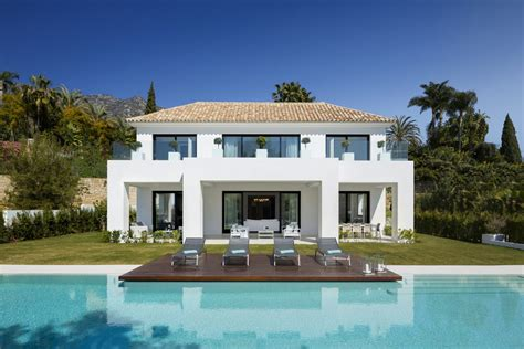 Mallorca Home Colored By Sea View by Contemporary Luxury Living In Blanca Marbella