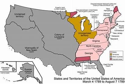 Expansion Map America Westward Activity Coast Grade