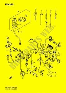 Wiring Harness  Gsf650sak7  Sak8  Suak7  Suak8  For Suzuki Bandit 650 2007   Suzuki Motorcycles