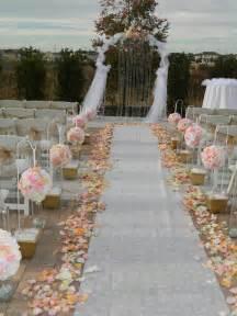 Outdoor Wedding Aisle Decor Ideas
