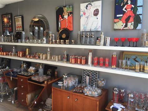 Vintage Barware And Glassware