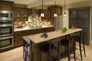 home styles kitchen island with breakfast bar featured in houzz robin rigby fisher