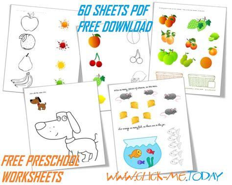 download 60 free printable preschool worksheets pdf