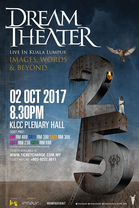 Ticketing Details For Dream Theater's