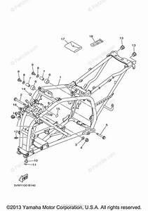 Yamaha Atv 2004 Oem Parts Diagram For Frame
