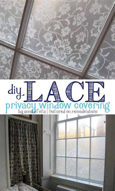 Fenster Sichtschutz Diy by 17 Best Ideas About Privacy Window On