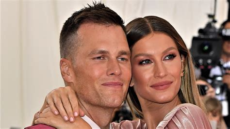 Tom brady is an american national football league quarterback who plays for the new england patriots. Tom Brady, Gisele Bundchen Hit Up NFL 100 Party In Miami ...