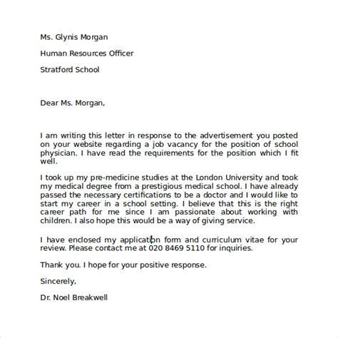 letter  intent  employment