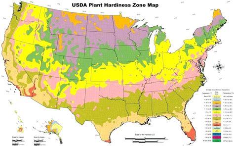 Growing Zones Map By Zip Code  Fasci Garden