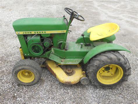 deere 110 lawn tractor mower ebay