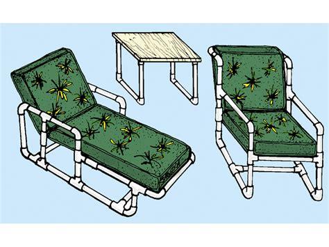 wood pvc lounge chair plans pdf plans