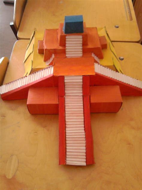 cardboard ziggurat temple ancient world history history