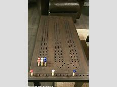 Cribbage table woodworking Pinterest Ideas to make