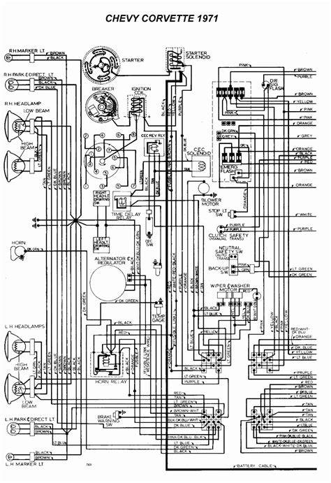 05 Corvette Part Diagram by I Need A Wiring Diagram Now For A 71 Corvette It Is