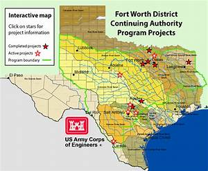Fort Worth District Gt Home Gt Continuing Authorities Program