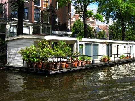 Hotel On A Boat Amsterdam by Ewa In The Garden Living On The Boat In Amsterdam