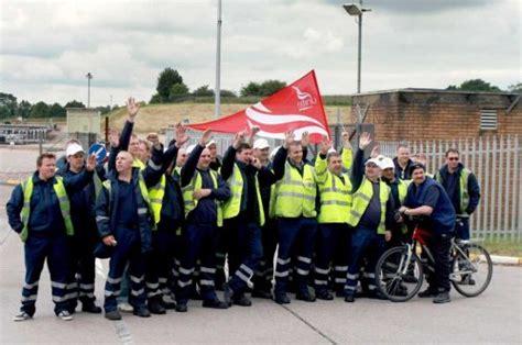 shell tanker drivers strike foreshadows summer