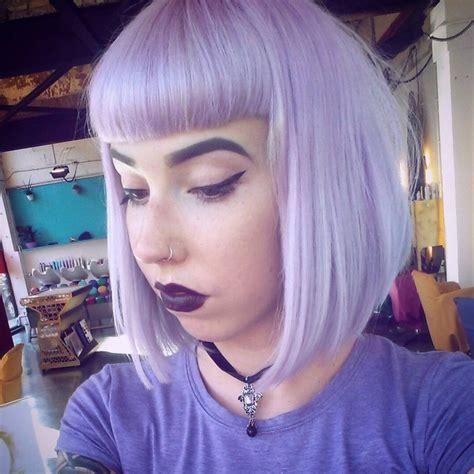 gorgeous pastel purple hairstyle ideas balayage hair