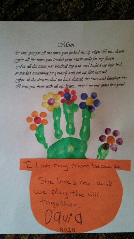 mothers day preschool activity creativity pinterest