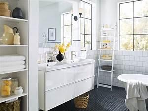 Ikea Salle Bain : galerie salle de bain ~ Teatrodelosmanantiales.com Idées de Décoration