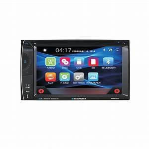 Blaupunkt Car Audio Double Din 6 2 U0026quot  Touchscreen Lcd Dvd Cd