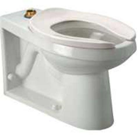Floor Mount Rear Flush Toilet by Zurn Z5654 Bwl 1 28 Gpf Ada Floor Mounted Back Outlet