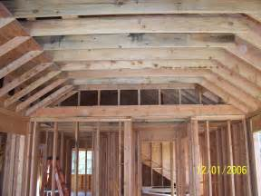 Vaulted Ceiling Carpentry Contractor Talk Ideas Porch Roof Framing