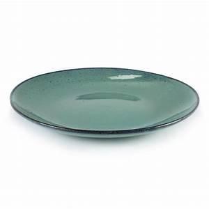 Assiette Plate Originale : vaisselle originale ceramique bleu turquoise vaisselle serax ~ Teatrodelosmanantiales.com Idées de Décoration